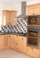 Irish Oak Kitchen